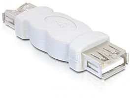 Kabel Adapter Gender Changer USB-A Bu. > US