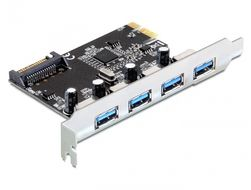 I/O PCI-Express 4x ext. USB3.0