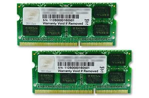 SO-DIMM 8 GB DDR3-1600 Kit (F3-12800CL11D-8GBSQ,  S