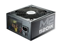 520W PSU Silent Pro M II Active with EU Cable Modular 80+