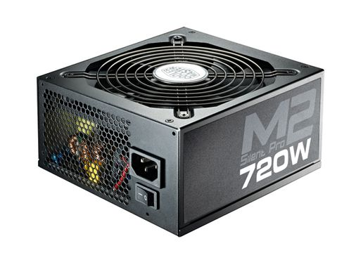 720W PSU Silent Pro M II Active with EU Cable Modular 80+