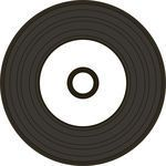 MediaRange CD-R 52x Black Vinyl cake (50) (MR226)