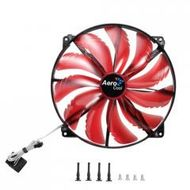 Silent Master - Case fan - 200 mm - red