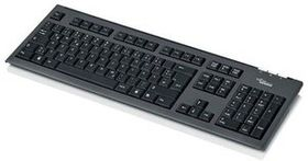 FUJITSU KB400/IL HEBR/Slim Value Keyboard/ Black (S26381-K550-L488)