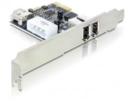 FireWire A 2+1 Port PCI Express Karte