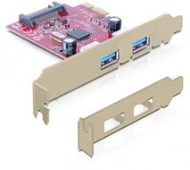 DELOCK PCI Express card > 2x USB 3.0 - USB adapter (89277)