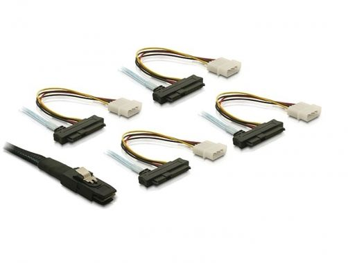 - Serial Attached SCSI (SAS) internal cable