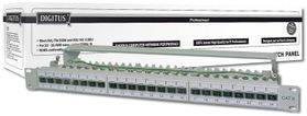 DIGITUS CAT 6A CLASS EA PATCH PANEL SHIELDED, 1U ACCS