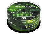 MediaRange DVD+R 4,7GB 16x SP(50) (MR445)