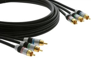 Kbl Kramer Component 3_0m_ 3 RCA to 3 RCA Component video cable