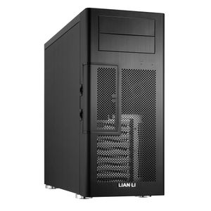 LIAN-LI Lian Li PC-100B Midi-Tower - black (PC100B)
