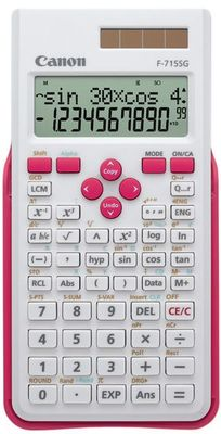 F-715SG Scientific calculator white & magenta  EXP DBL