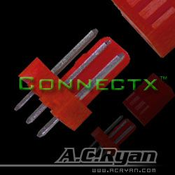 AC RYAN 3-Pin Male UV Red (ACR-CB9109)