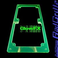 RadGrillz GlowFX 2x120mm - Acryl UVGreen