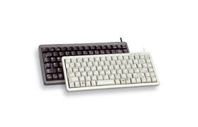 COMPACT KEYBOARD G84-4100 EU BLACK USB PS/2 US-ENGL INTL      US WRLS