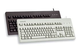 G80, mekanisk , MX black switchar, US layout, PS/2, 1,8m, svart