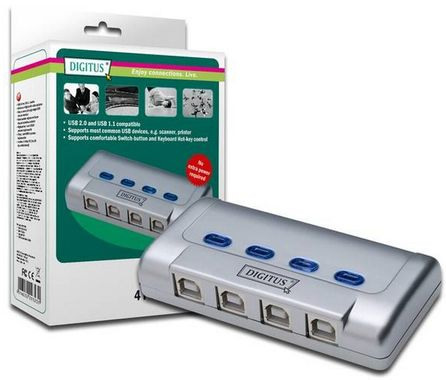 Sharing Switch 4 PCs -> 1 USB2.0