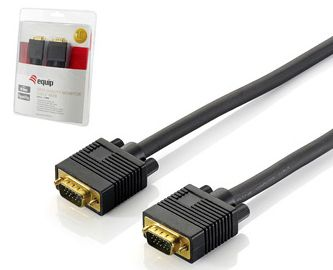 VGA CABLE AWG28 M/M 1.8M BLACK . CABL