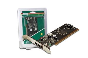 3-Port FireWire PCI Card