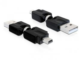 USB Adapter USB Typ A -> Typ B mini 5pol St