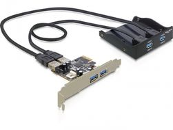 Front Panel + PCI Express Card