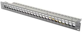 DIGITUS Patchpanel 1HE 24-Port, Modular Patchpanel (DN-91410)