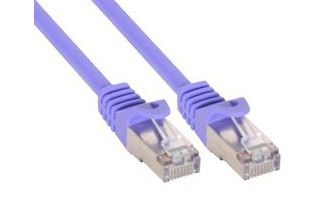INLINE 2m Patchkabel 1000 Mbit RJ45 - purple (72502P)