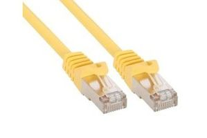 5m Patchkabel 1000 Mbit RJ45 - yellow