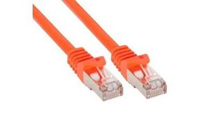INLINE 10m Patchkabel 1000 Mbit RJ45 - orange (72500O)