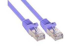 10m Patchkabel 1000 Mbit RJ45 - purple