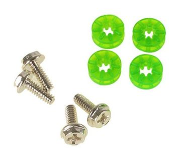 LAMPTRON HDD Rubber Screws PRO - UV green (LAMP-RS7004)