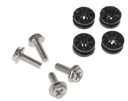 HDD Rubber Screws PRO - pure black