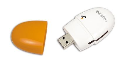 LOGILINK Card Reader USB Smile All-in-One oran (CR0029)