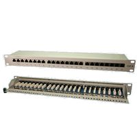 ''Patchpanel 24-Port RJ45 19'''' Cat6 ges