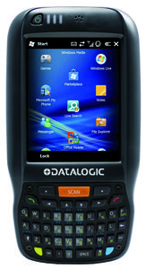 DATALOGIC Elf , WM 6.5, 802.11 a/b/g , BT, Std Laser/ Green Spot, Camera 3MP, 256MB RAM/ Flash,  27-Key (944301000)