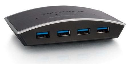 CABLES TO GO Cbl/USB 3.0 Superspeed Hub 4-port (81649)
