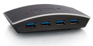 Cbl/USB 3.0 Superspeed Hub 4-port