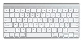 APPLE Wireless Keyboard/ US English (MC184LB/B)
