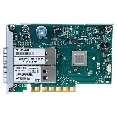 InfiniBand FDR/ Ethernet 10/40Gb 2-port 544QSFP Adapter