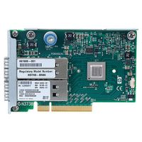 Hewlett Packard Enterprise InfiniBand QDR/ Ethernet 10Gb 2-port 544FLR-QSFP Adapter (649283-B21)