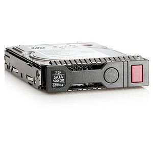 Hewlett Packard Enterprise 500GB 6G SATA 7.2K rpm LFF (3.5-inch) SC Midline 1yr Warranty Hard Drive (658071-B21)