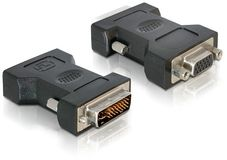 DELOCK DVI Adapter DVI 24+5 -> VGA 15pin St/Bu