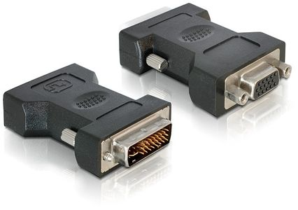 DELOCK DVI Adapter DVI 24+5 -> VGA 15pin St/Bu (65016)