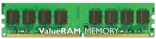KINGSTON 1GB DDR2 PC2-6400 nonECC 800MHz CL6 (KVR800D2N6/1G)