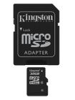 KINGSTON 32GB MICROSDHC CLASS 4 FLASH CARD