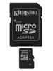 KINGSTON microSD 32GB 4/12 + adapter SDHC (SDC4/32GB)