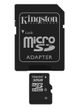 KINGSTON 32GB microSDHC med SD adapter Class 4