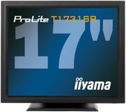 "IIYAMA ProLite 17"" Touch T1731SR-B1 1280x1024,  5ms, 900:1 with touch panel, VGA/ DVI/ USB/  RS232C"