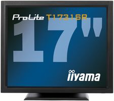 "ProLite 17"" Touch T1731SR-B1 1280x1024,  5ms, 900:1 with touch panel, VGA/ DVI/ USB/  RS232C"