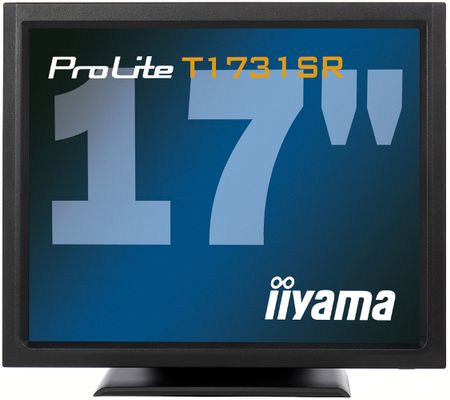 """ProLite 17"""" Touch T1731SR-B11280x1024,  5ms, 900:1 with touch panel, VGA/ DVI/ USB/  RS232C"""